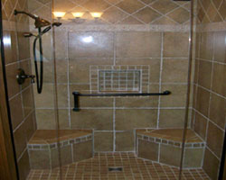 Exceptionnel Tiled Walk In Showers